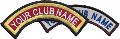 Sample Club crest patch